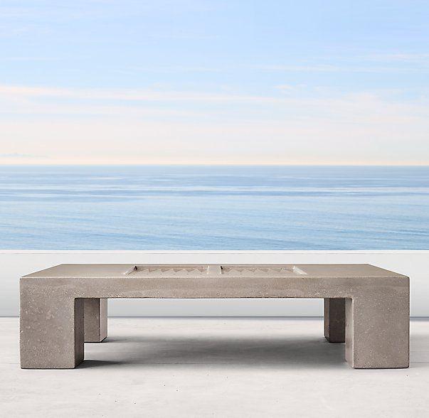 James De Wulf Outdoor Backgammon Table. Concrete Outdoor FurnitureOutdoor  Furniture DesignCatalogTablesArtistsLos AngelesJames ...