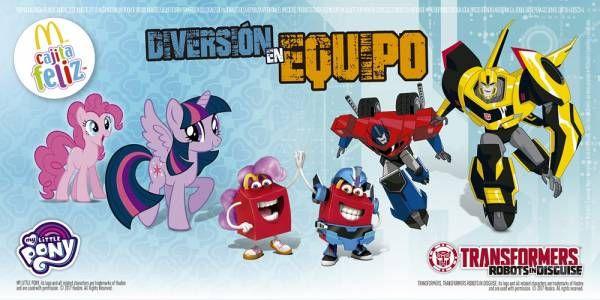 Una nueva colección de juguetes y la opción de un nuevo libro llegan a la Cajita Feliz de McDonald's en junio