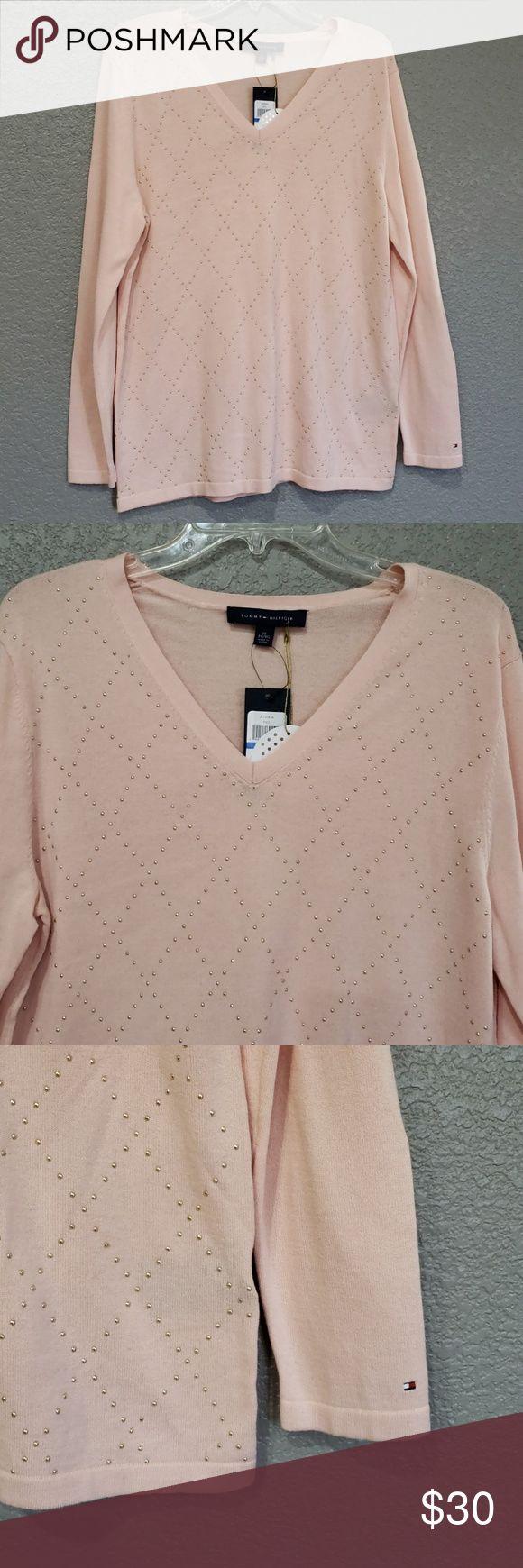 Tommy Hilfiger Cotton knit seater/blouse 12019 100