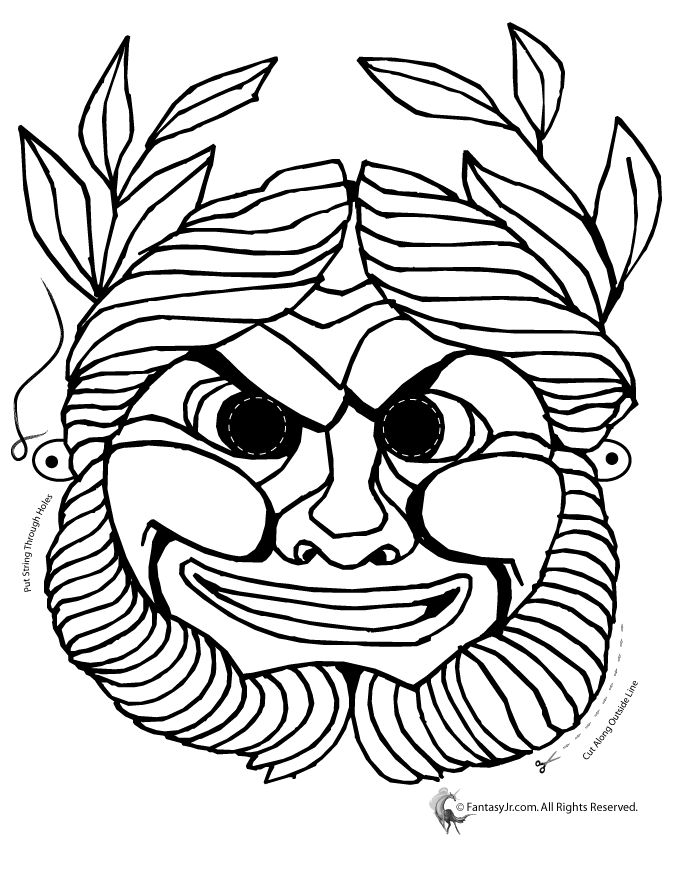 Greek Mythology Worksheets & Coloring Pages Woo! Jr. Kids