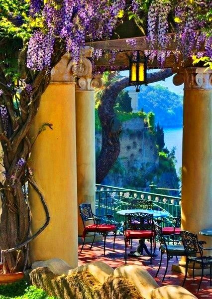 Sorrento, Italy - It's every bit as pretty as the picture !!!  Sorrento is a piece of heaven on earth.