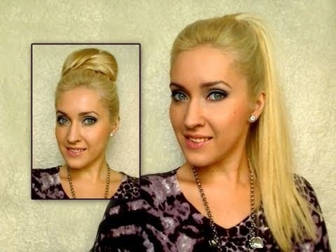 If you're tired of the same old hairstyles, give yourself a fun makeover with some extensions and a new updo. This video will explain how to apply hair extensions and style your new hair into a chic high ponytail that will turn plenty of heads.