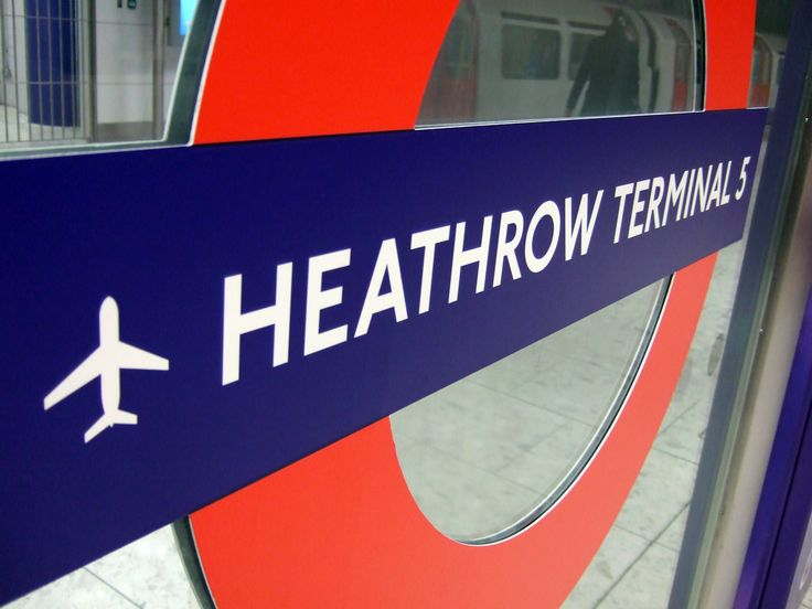 Heathrow Airport to London, This is the best airport for a long lay over they have the best shops! Even a Harrods !!