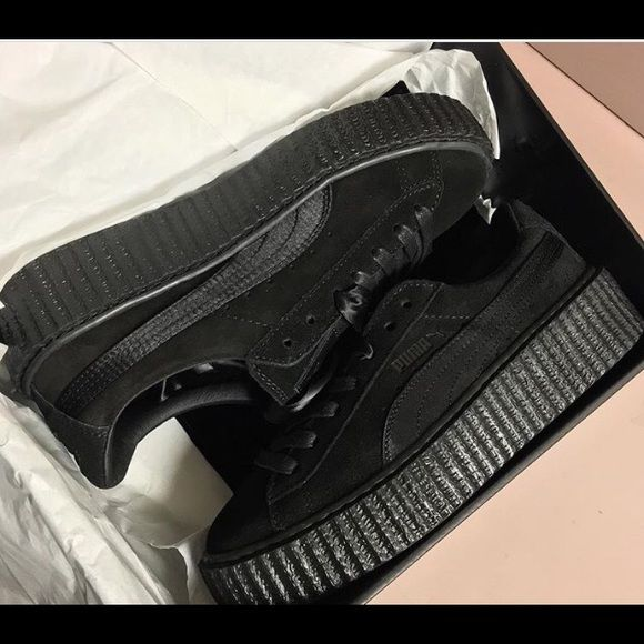Puma Suede Creeper Black/black FentyxPuma Puma Shoes Sneakers