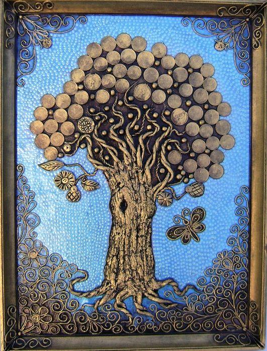 Мобильный LiveInternet Дерево богатства. Пейп-арт. Мастер-класс | Evany - Дневник Evany |