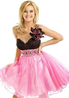 Special Spring & Summer Ball Gown Organza One Shoulder Evening Party Dress - Lunadress.co.uk