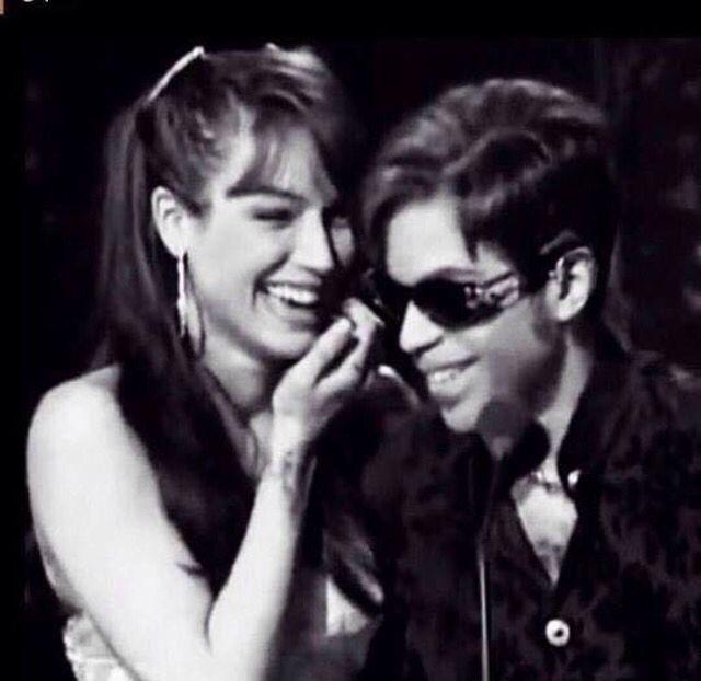 Mayte & Prince ●