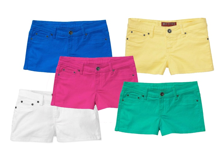 11 best images about Colored Jean Shorts on Pinterest | Colored ...