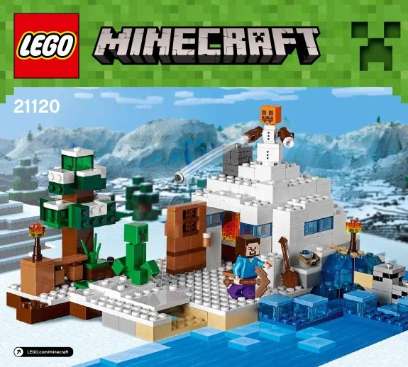 lego minecraft instructions the mine