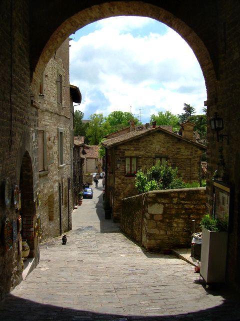 Gubbio, Perugia, Umbria Italy