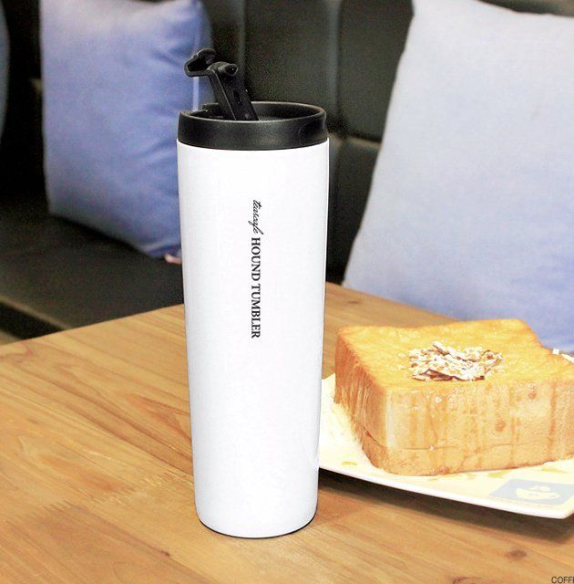 Fancy   All stainless steel hound tumbler