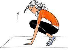 7 jours de gym de 8 min pour maigrir