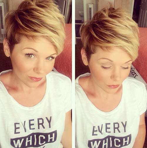 27.Short Pixie Hairstyle