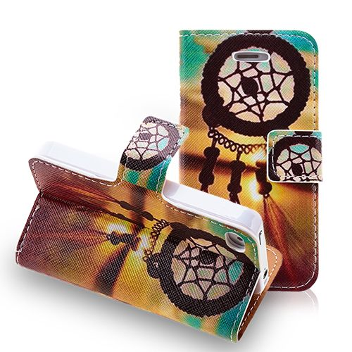 Dream Catcher Leather Wallet Case for iPhone 4 4S #leather #case #iphone4 #apple #cellz #dreamcatcher #protective #cover $6.34
