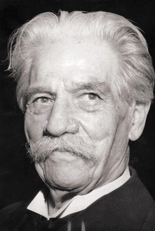Albert Schweitzer - 1875/1965