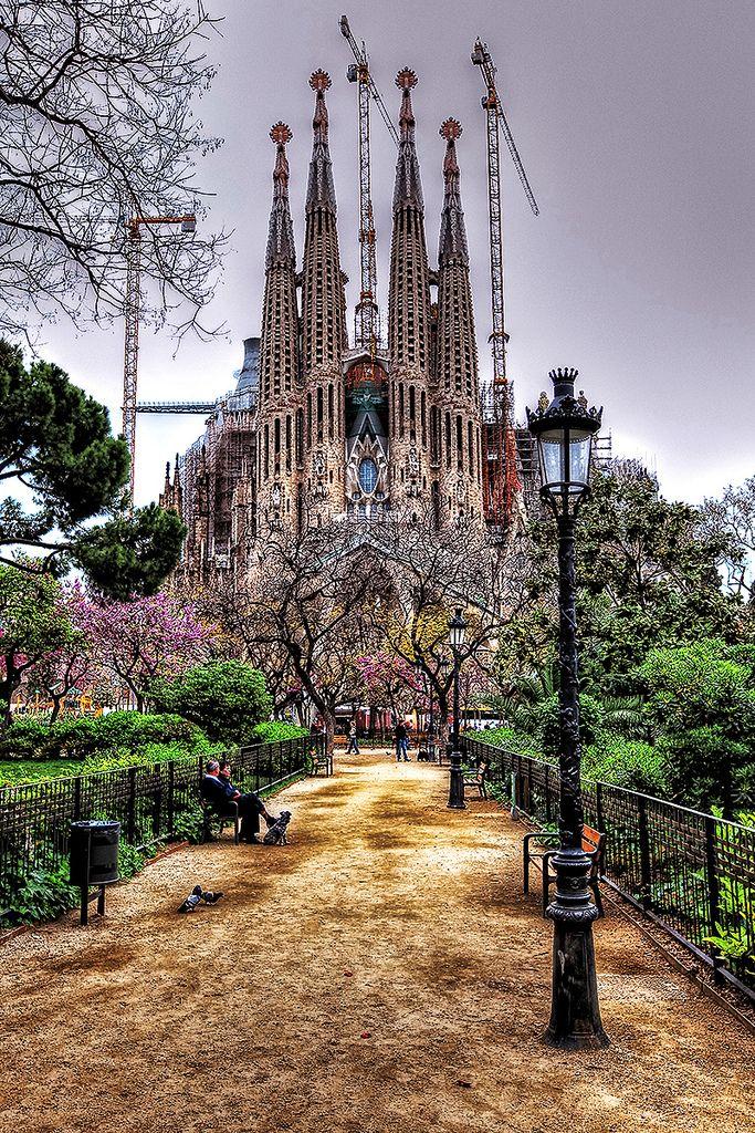 Sagrada Familia, Barcelona #Gaudí