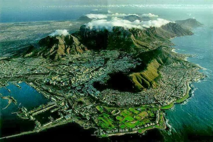 Cape Town  is the second-most populated city in South Africa after Johannesburg,
