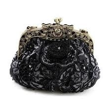 Vintage Beaded Velvet Decorative Purses Victorian Opera Purse