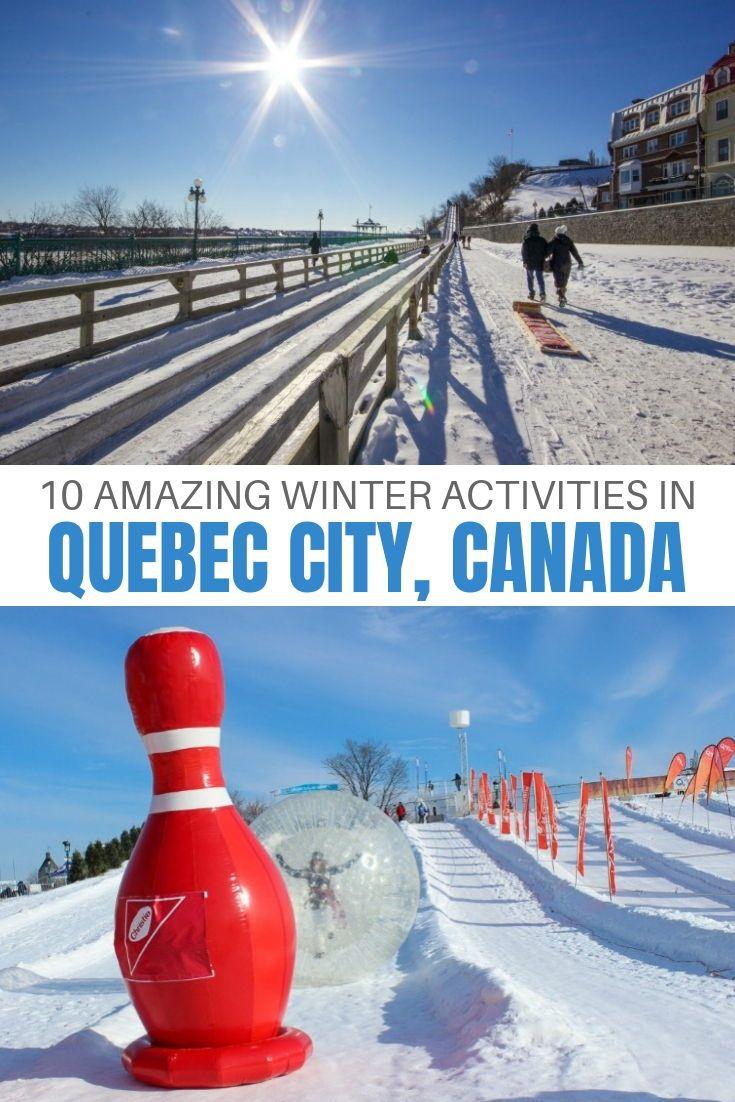 10 Unforgettable Winter Activities To Enjoy In Quebec City Quebec City Winter Activities Canada Travel