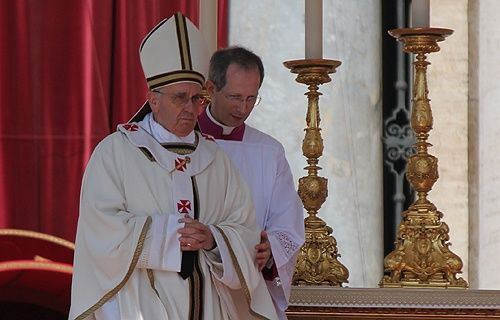 """""""Work is fundamental to the dignity of a person. Work, to use an image, anoints us with dignity, fills us with dignity, makes us similar to God, who has worked and still works, who always acts; it gives us the ability to maintain ourselves, our family, to contribute to the growth of our nation."""" Pope Francis"""
