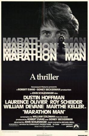 1976 JOHN SCHELESINGER  Marathon Man 7,2