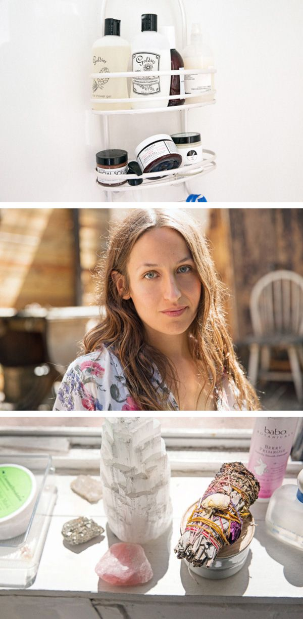 """Domino Kirke, singer, says, """"Right now, I'm only using products from One Love Organics—I use the Morning Glory Caffeinated Firming Serum during the day, Oh Mega Calming Chia Oil at night, and the Gardenia + Tea Antioxidant Body Serum over my body. It smells so subtle and kind of like a baby, which I love."""""""