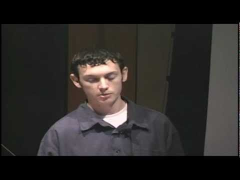 Published on Jul 24, 2012 This video is provided by Claire Sampankanpanich. This excerpted video of James Holmes is from a 10 minute science presentation. James Holmes, who spent eight weeks interning at La Jolla's Salk Institute after graduating in high school in 2006, gave a presentation to his fellow interns at the end of the summer. The 18-year-old explains his studies on temporal illusion, or the perception of time.