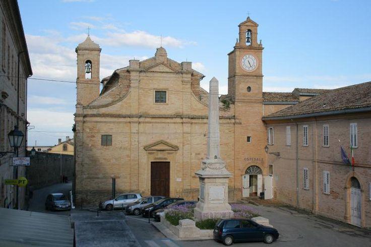 San Filippo Neri #MontefioredellAso, #AscoliPiceno, #Marche, #Italy http://www.habitualtourist.com/440