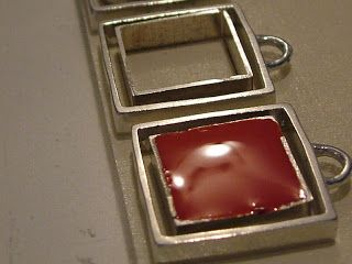 handmade resin jewelry by Katherine Swift: Resin jewelry making pictures
