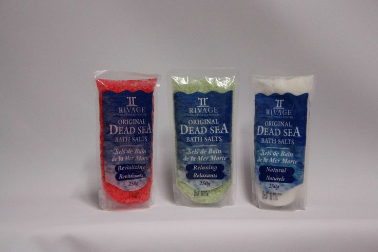 Rivage Dead Sea Bath Crystals 2 New Relaxing Smoothing