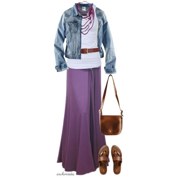 """I LOVE Maxi Skirts!!!  """"Lavender"""" by archimedes16 on Polyvore Polyvore Clothes  Outift for • teens • movies • girls • women •. summer • fall • spring • winter • outfit ideas • dates • parties Polyvore :) Catalina Christiano"""