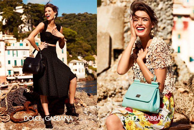 Моника Беллуччи, Бьянка Балти и Бьянка Брандолини снялись в новой рекламной кампании Dolce.