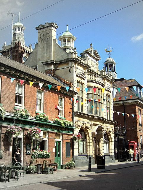 Rochester town centre, Rochester, Kent. A lovely place to hold your conference or event.