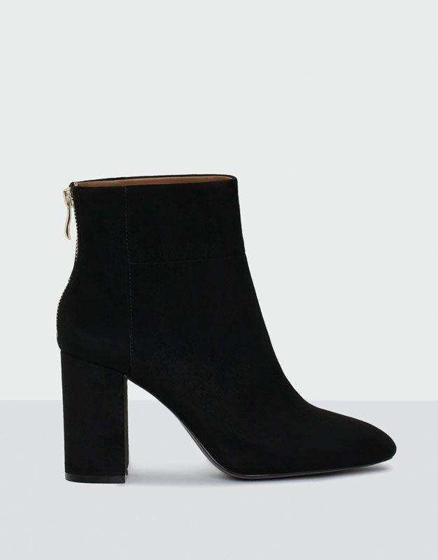 ca8c0c58e00380 Bottine à talon soirée - Chaussures - Nouveautés - Femme - PULL&BEAR France  #bottine #