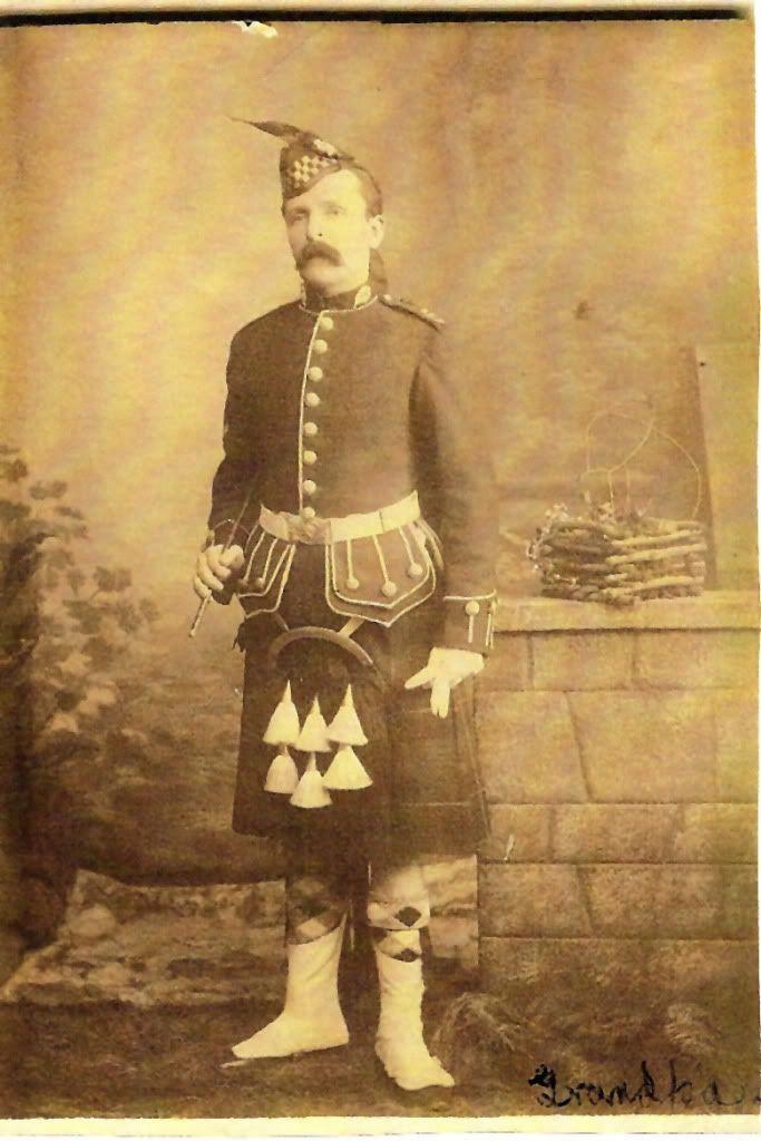 William Duncan, Argyll & Sutherland Highlanders - Boer War 1890s