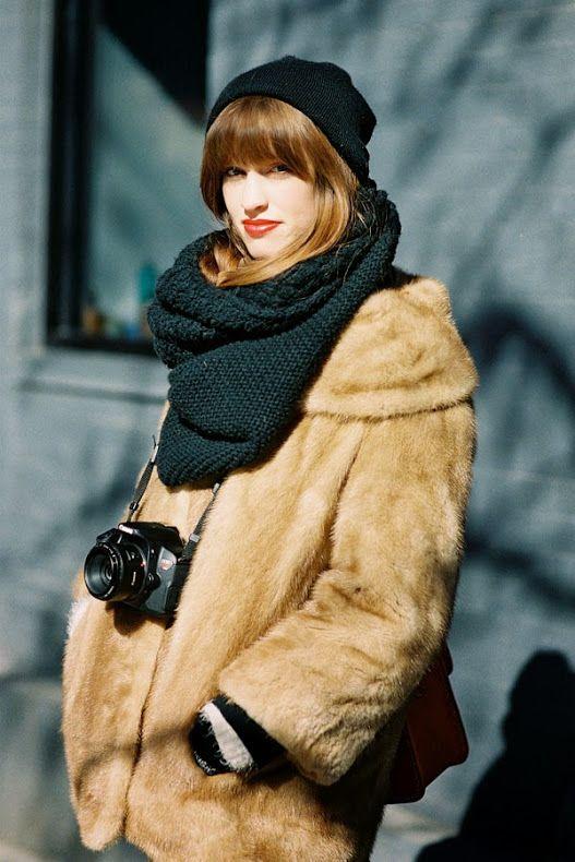 Ванесса Джекман: Неделя моды в Нью-Йорке AW 2014 .... Перед Rodarte