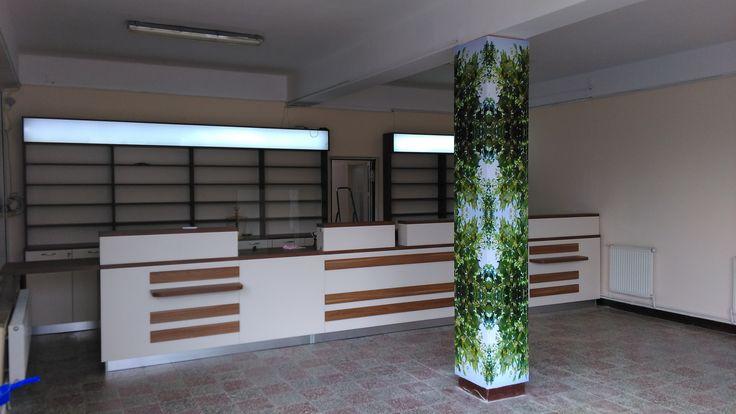 O noua farmacie, in curs de amenajare.  www.sertarefarmacii.ro