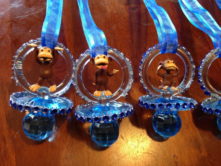 Baby Shower Favors Pacifiers ~ 14 best my monkey theme baby boy shower images on pinterest boy