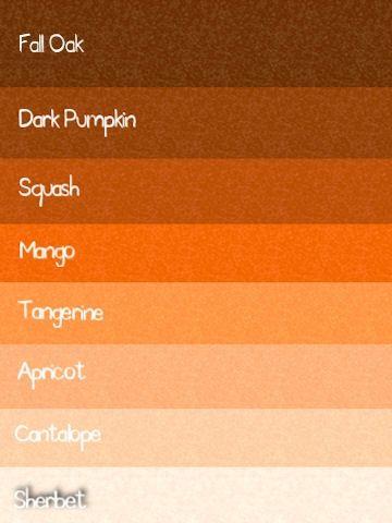 Gbg Designs August 2010 Orange Paint Colors Color Palettes Walls