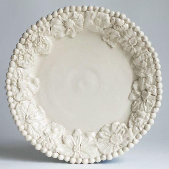 Flower Dinner Plate