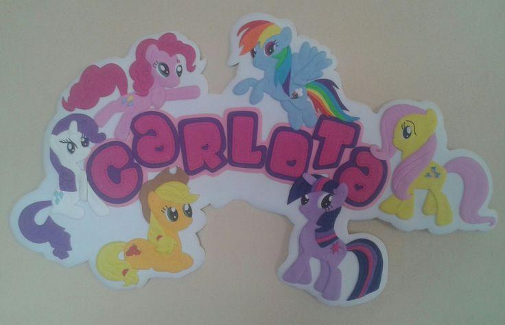 My little pony. Detalles para decorar baby showers, bienvenidos, cumpleaños y más! #detallesocasionesespeciales