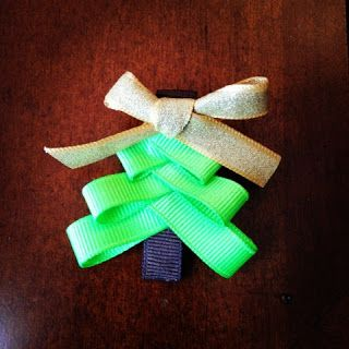 Married Filing Jointly (MFJ): Homemade Christmas Tree Hair Bows