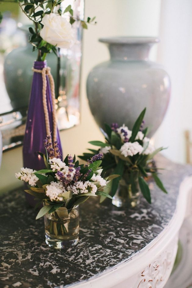 Lavender Inspired Wedding - By Stella And Moscha, Photo by Thanos Asfis
