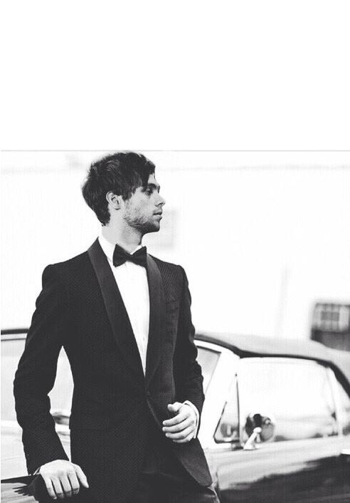 Imagine: Luke waiting for you at your wedding