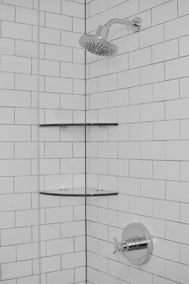 How To Really Clean Shower Wall Tiles And Grout Hunker In 2020 Shower Wall Tile Shower Cleaner Shower Wall