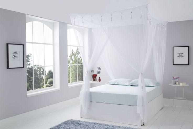 Queen Size Box White Mosquito Net