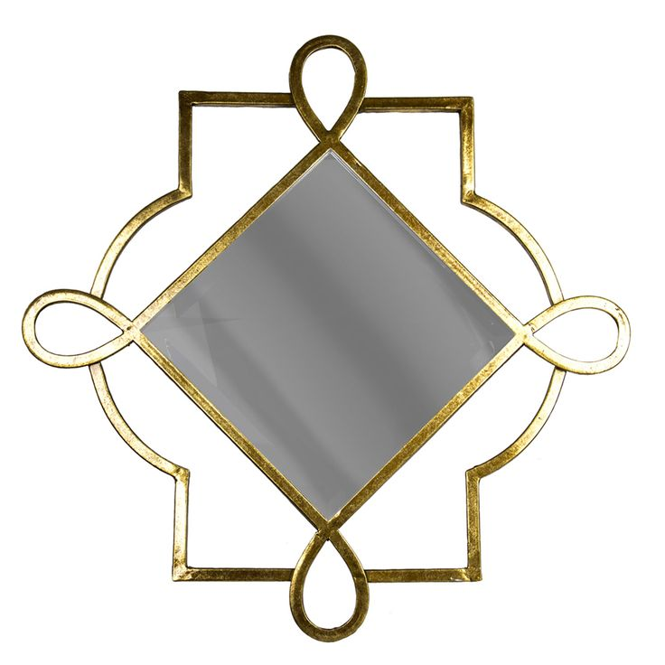 Metal Gold Wall Mirror Sagebrook Home Square Mirrors Home Decor