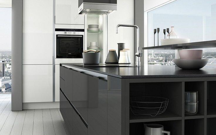 color isla gris decoracion accesorios interiores para cocina pinterest colors