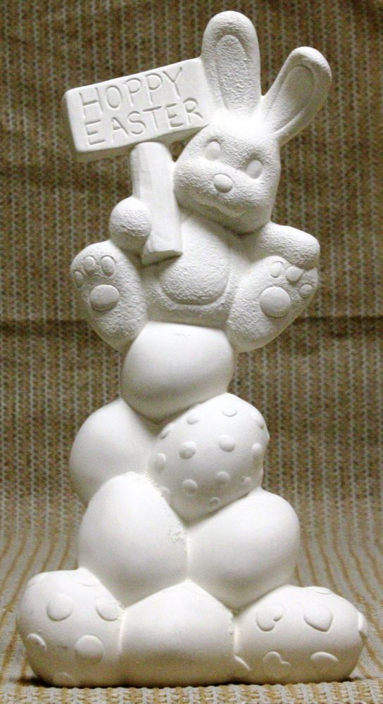 28 best images about easter decorations on pinterest for Bisque ceramic craft stores