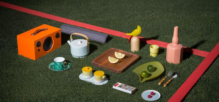 Pastoral symphony. Have a field day with our carefully curated collection of picnic paraphernalia.